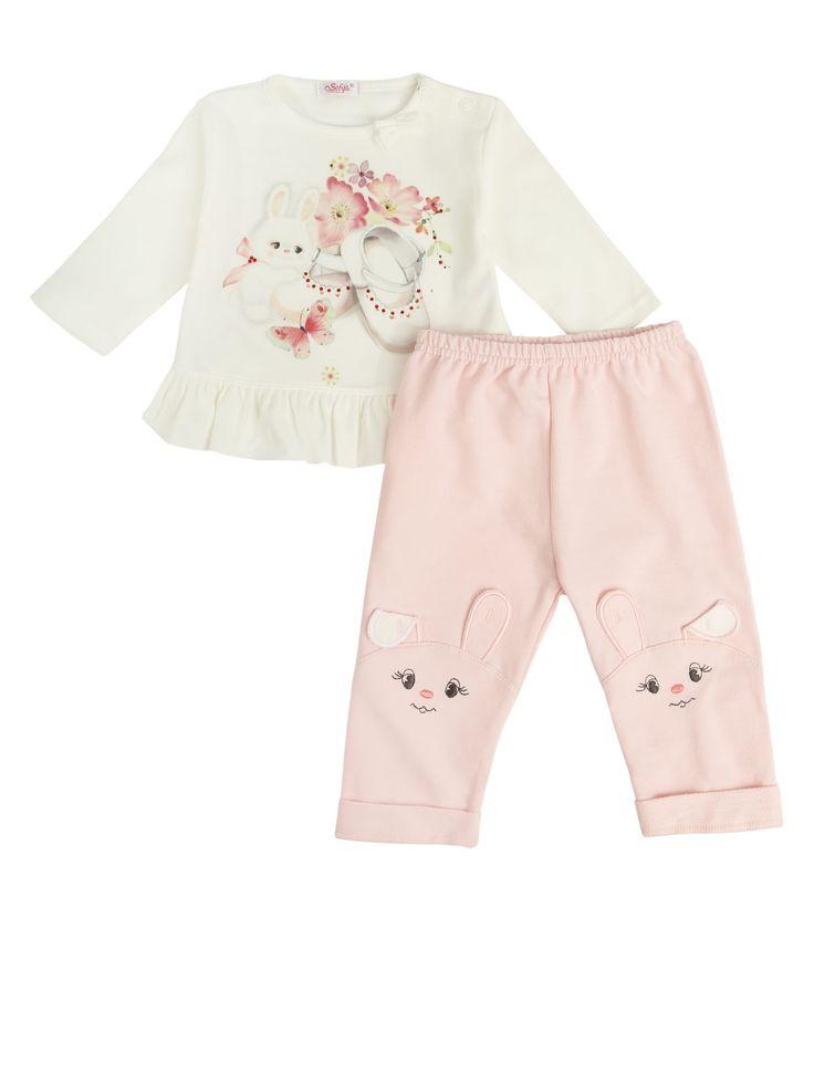 Babymode aus weicher Baumwolle. #baby,#babymode, #babyfahion,#hase, #cuteBaby,#babyoutfit