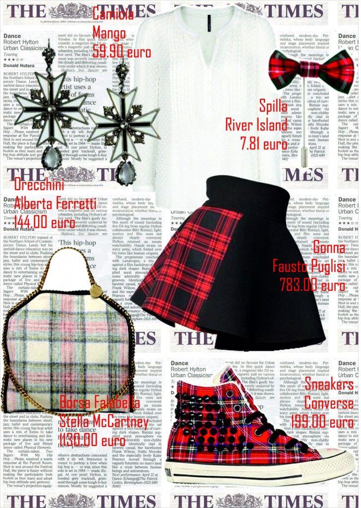 #41 || SS || tendenza TARTAN ‹ Blogging Fashion