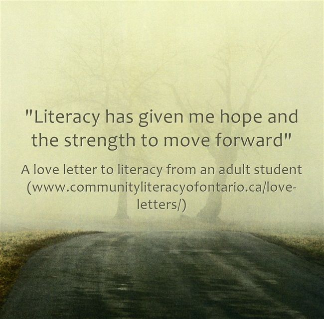 Pin by Community Literacy of Ontario on Love Letters to ...