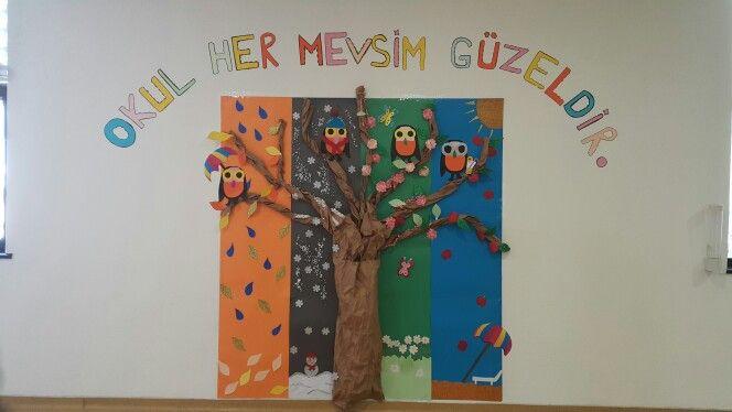 Okula hoşgeldin - her mevsim güzeliz :)