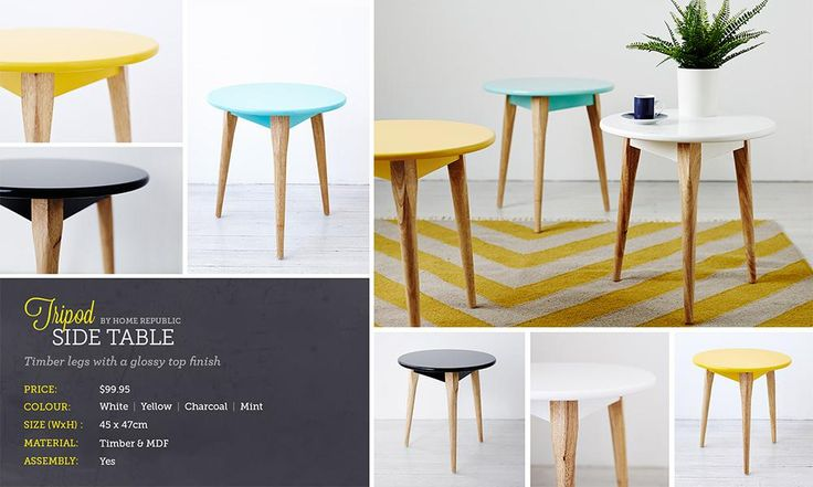 Lookbook | Adairs. little side table for living room or bedside table