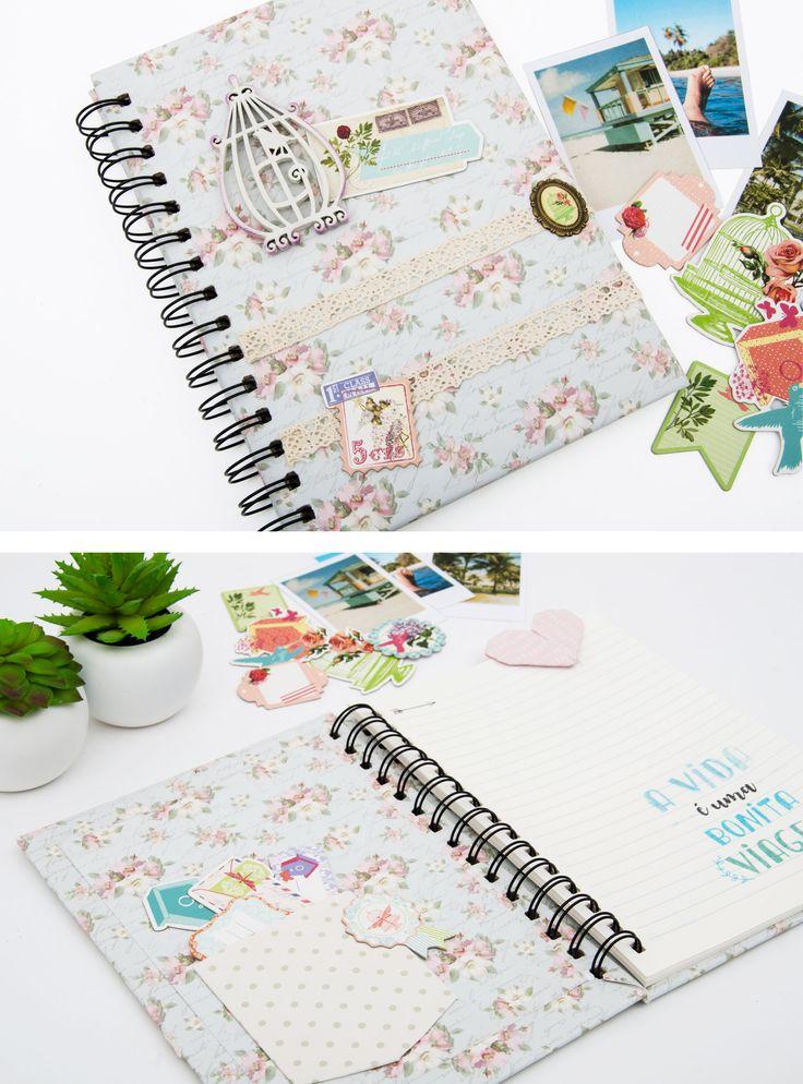 Caderno personalizado com materiais TOGA