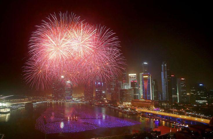 La celebración en Singapur. | AP.