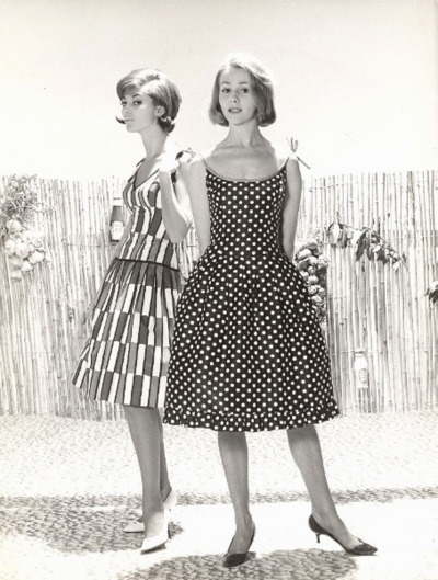 French Fashion Lady Model Heinz Promo 1960 Glam