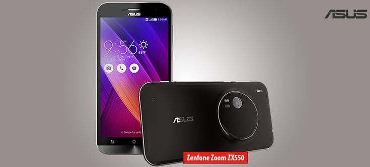 Asus Zenfone Zoom ZX550 » Android smartphone » Aparitie 2015 » Features 3G, 5.5″ IPS capacitive touchscreen, 13 MP camera » Wi-Fi, GPS, Bluetooth.  http://blog.catmobile.ro/asus-zenfone-zoom/