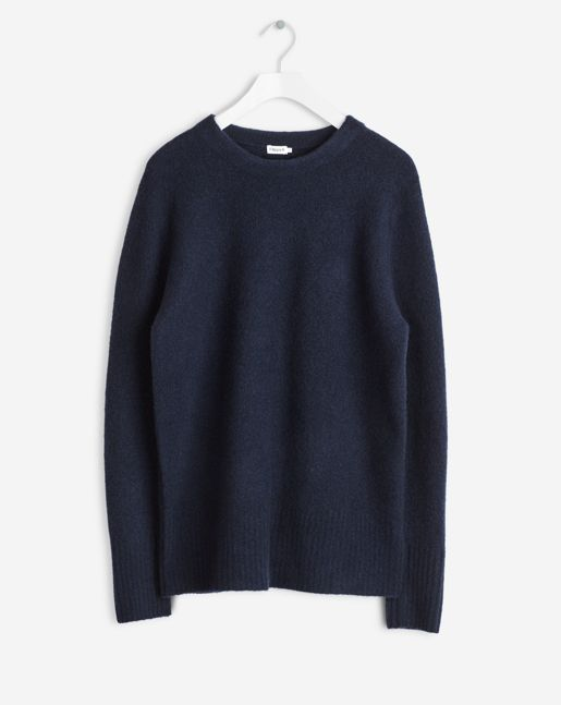 Light Yak Sweater Navy