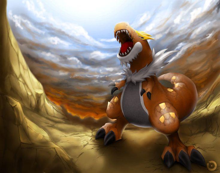 Pokemon - Tyrantrum by Hattori-Hako on DeviantArt