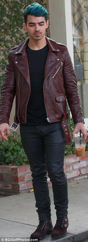 Joe Jonas steps out Gigi's romance with style twin Zayn heats up #dailymail