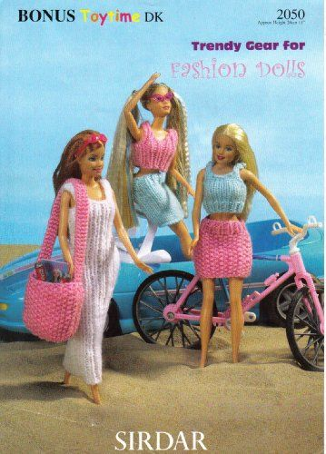 Sirdar Knitting Patterns For Dolls Clothes : 1000+ images about Barbie, Sindy and Ken dolls clothes ...