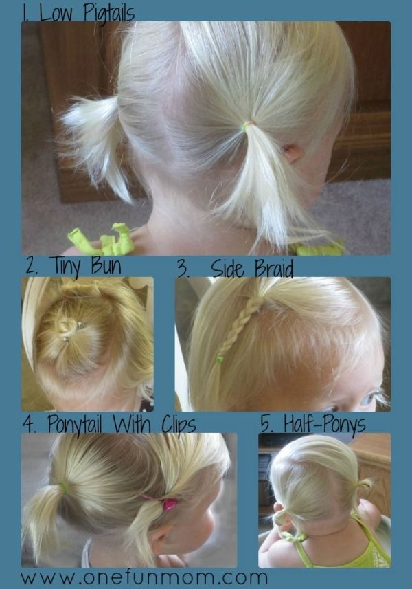 How-To hair styles for toddler girls by bernadette