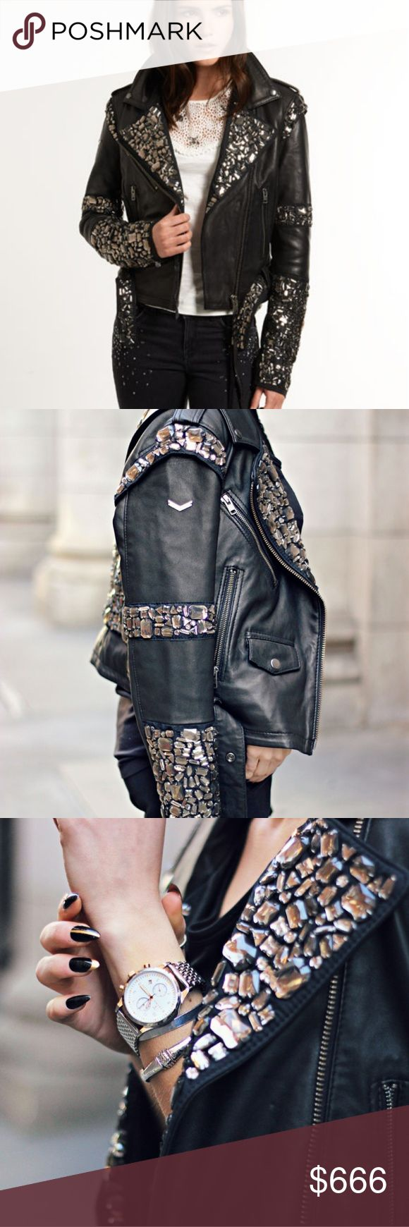 ISO superdry premium bubble biker jacket Wanted ad not for sale.  I'm looking for this embellished leather moto jacket made by super dry. If you're selling one please let me know. I'm open to size and price! Superdry Jackets & Coats