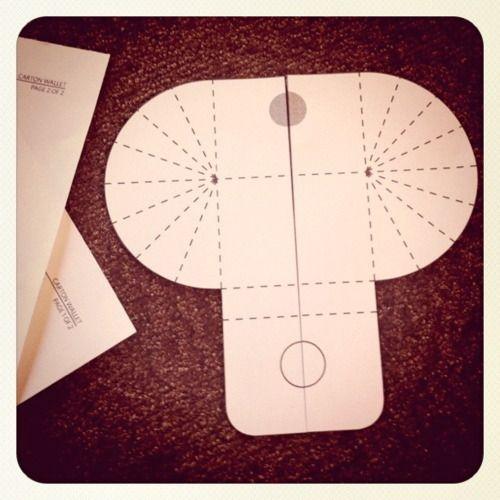 milk carton template | Natalie's Creations - DIY Milk Money Wallet _ recycle milk cartons
