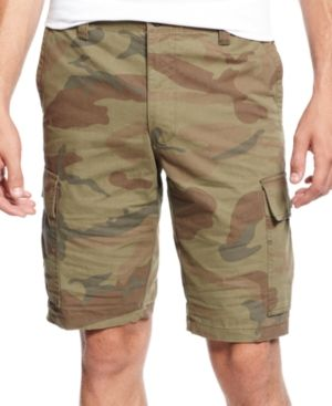 $27, Shorts Core Cargo Camo Shorts by Dockers. Sold by Macy's. Click for more info: http://lookastic.com/men/shop_items/51928/redirect