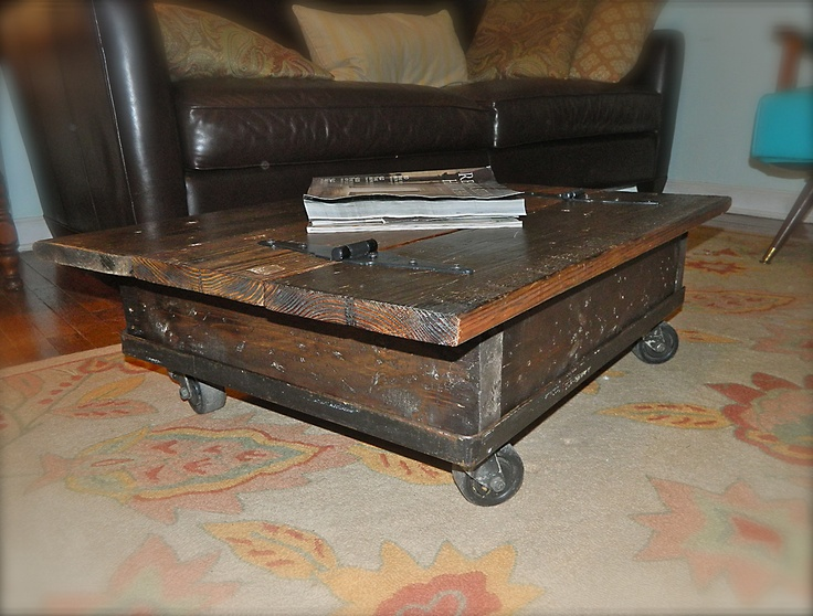 Old Door Repurposed To Coffee Table Re Re Re Cycled Claimed Used Pinterest