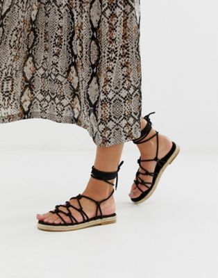 08e20f16a DESIGN Jester knotted espadrille sandals in 2019 | Footwear ...