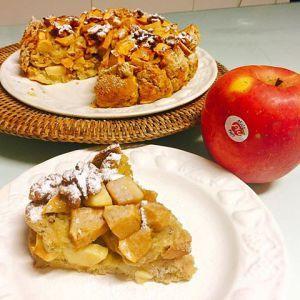Torta di Pane e Mele (senza burro)