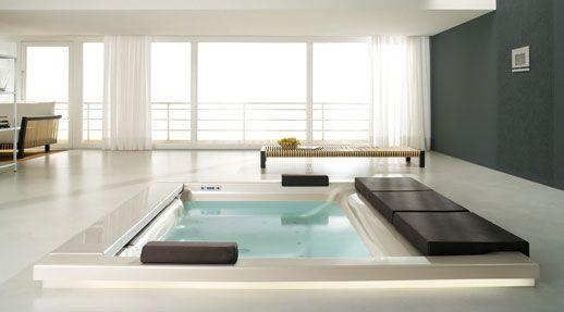 vasche seaside per il living - teuco