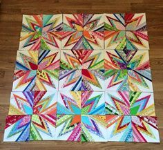 Scrap attack quilt -- https://www.etsy.com/listing/217969426/scrap-attack-201-paper-pieced-quilt