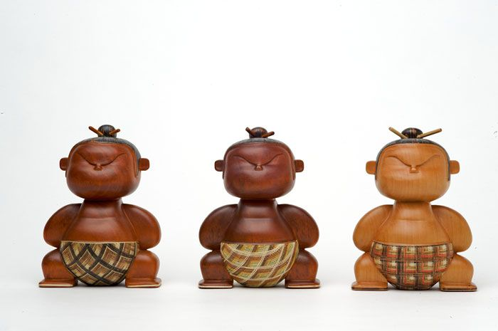 Mimushi Handcrafted DesignerFigurines: Design Toys, Monk Warriors, Handcrafted Wooden, Art Toys, Handcrafted Design Figurines, Wooden Figurines, Figurines Toys, Handcrafted Figurines, Crafts Toys