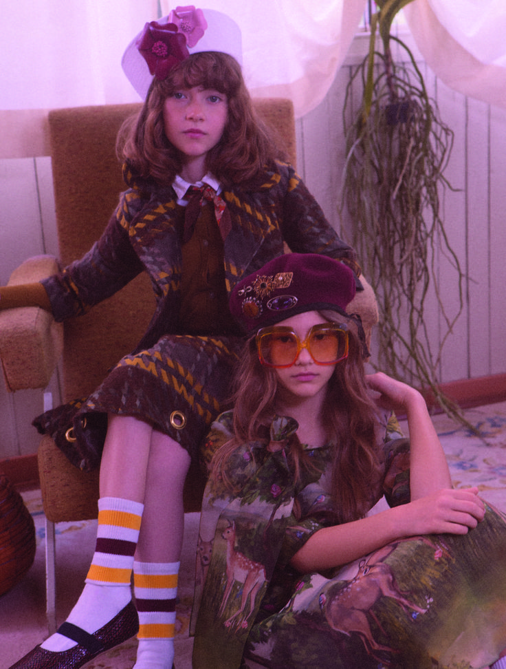 #CollezioniBambini N°59 MODERN bohemians - Elegance and extravagance from the past draw upon more present street wear in a modern symbiosis of a perfect nerd-chic style #jacket #skirt #Yclù #sweart #shirt #MarMarCopenhagen #shoes #Bisgaard #dress #AristocratKids #hat #glasses #socks ph. #LucaManfredi st. #MaddalenaMontaguti #AW16/17 #modernoldstyle #military #mood #fashion #romantic