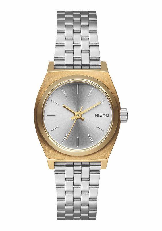 TIME TELLER GOLD SILVER SILVER  Nixon  Reloj  Watch  Acero  2ubest ... 859ad54e29d4