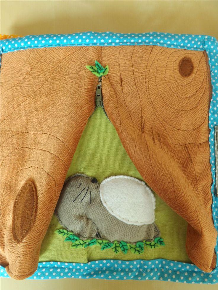 Quiet book Totoro - dormant