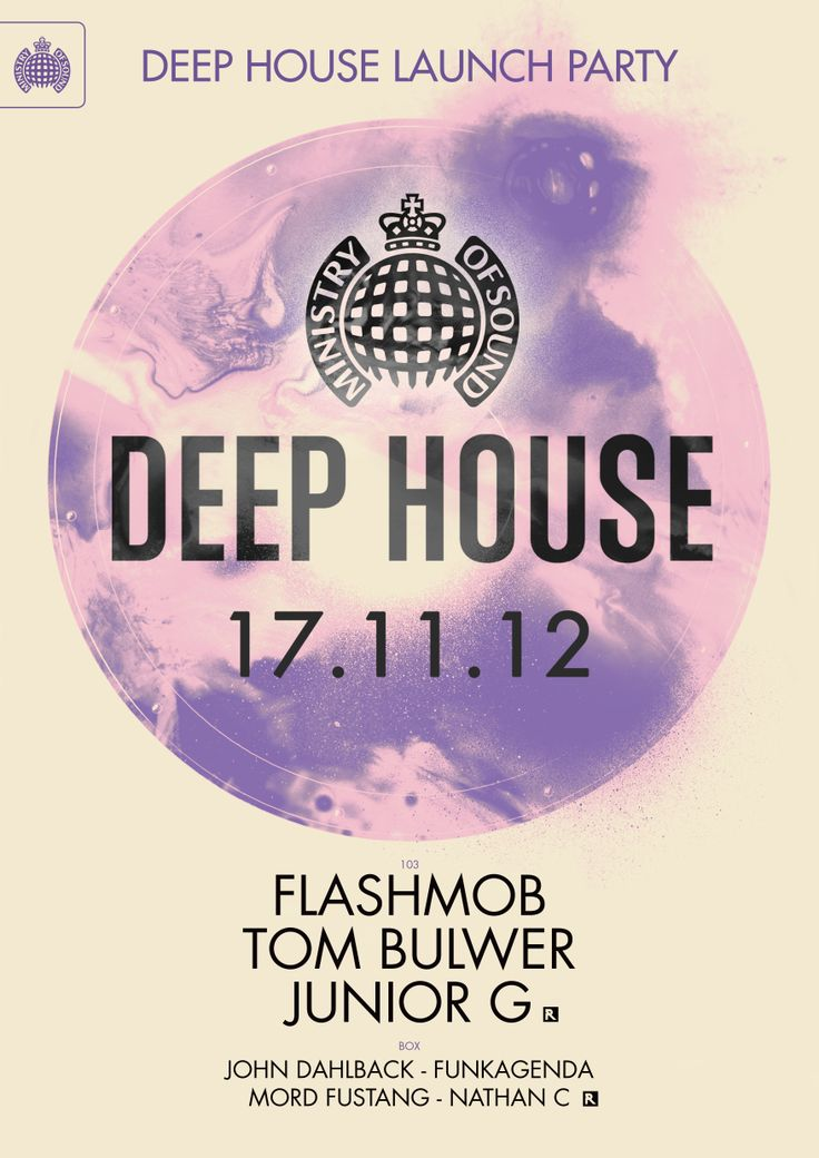 Deep House CD Launch Party w/ Flashmob & Tom Bulwer