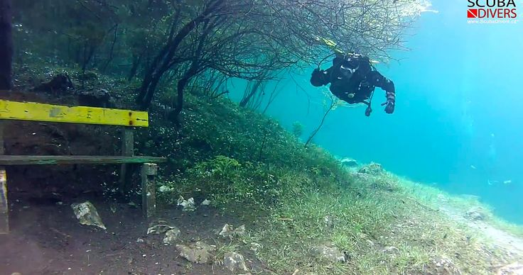 This video shows the amazing underwater park at Grüner See, Austria. This park floods 30 feet deep in the Spring when snow from the surrounding mountains thaws, creating a surreal underwater park for scuba divers to explore.  #BeautifulNature #AmazingWorld #Travel #Austria