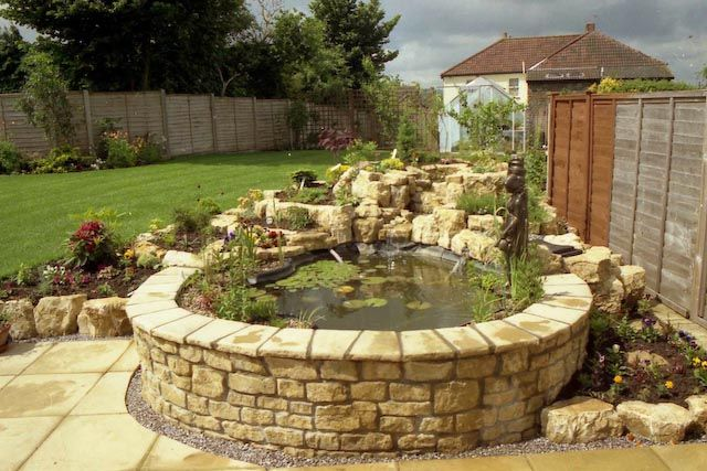 brick garden bed google otsing aiaideed pinterest. Black Bedroom Furniture Sets. Home Design Ideas