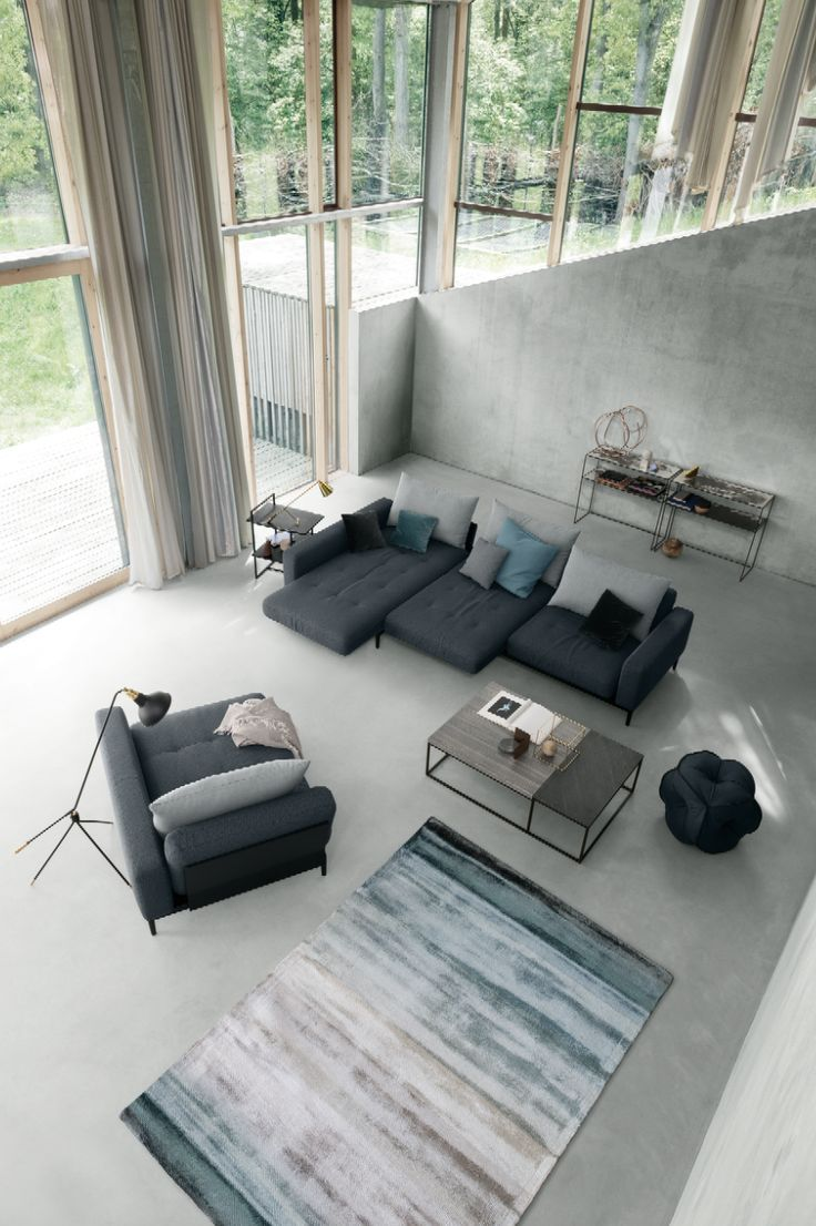 Thank you high ceilings and open windows for shining light on these elegant German interiors.