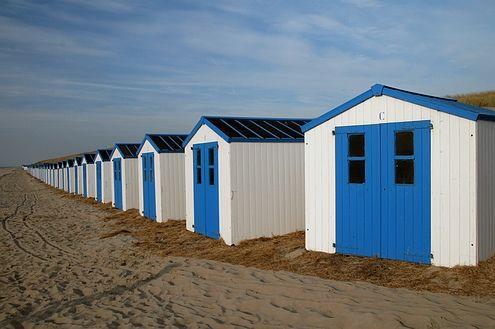 Zee, strand, blauwe lucht... Teamdagen aan zee? Te leuk!