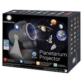 Smithsonian® Planetarium Projector<br><br>• A Dual-Function Planetarium Projector Brings the Nighttime Sky into Your Room.<br>• A Rotating Star Pattern of the Northern Sky is Projected with 24 HD Space Images.<br>• Choose HD Images of Planets, Nebulae, Moons, Asteroids, Astronauts, Spacecraft and Celestial Bodies.<br>• Over 50 Different Image Combinations.<br>• Includes STEM Educational Content <br>...