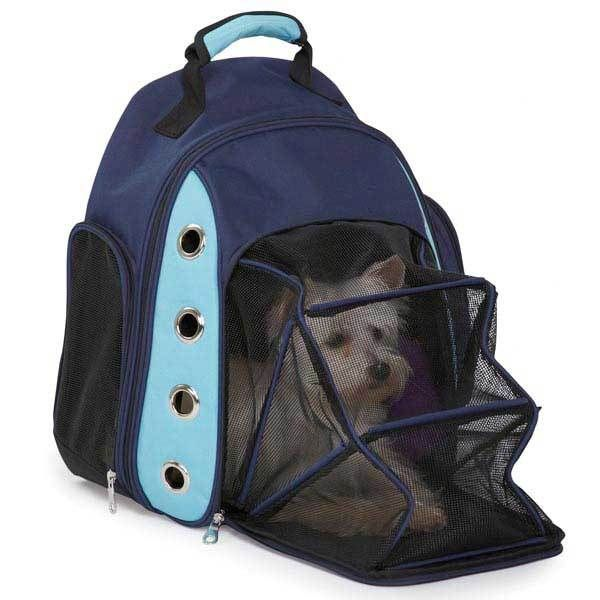 Adaptable for horseback riding?  Casual Canine Ultimate Backpack Dog Carrier