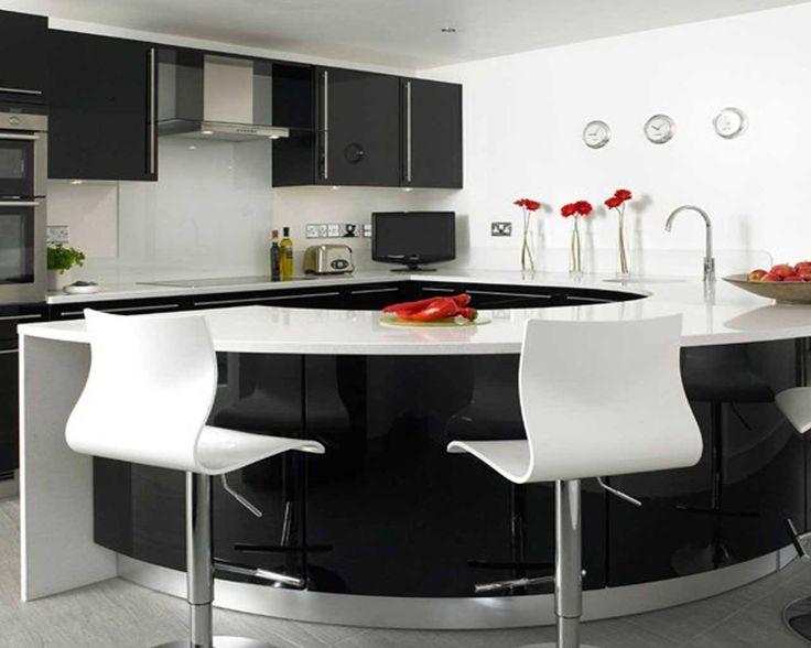 Cocina moderna minimalista, vía facebook.