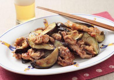 豚とナスのピリ辛中華炒め