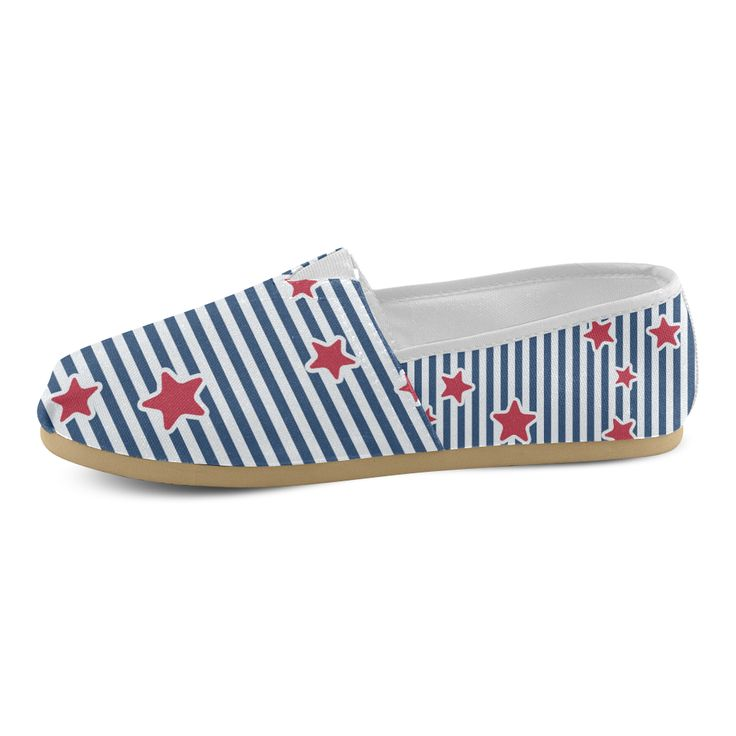 Blue, Red and White Stars and Stripes Women