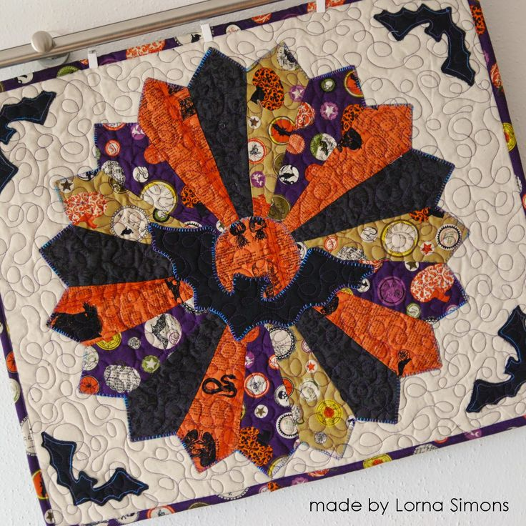 Halloween Quilt from Lorna
