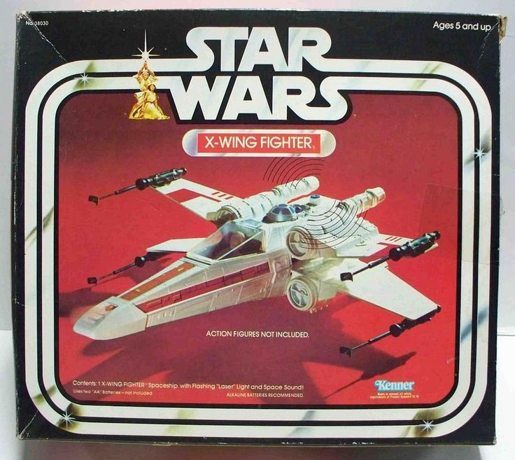 — Star Wars Toys (X-wing)