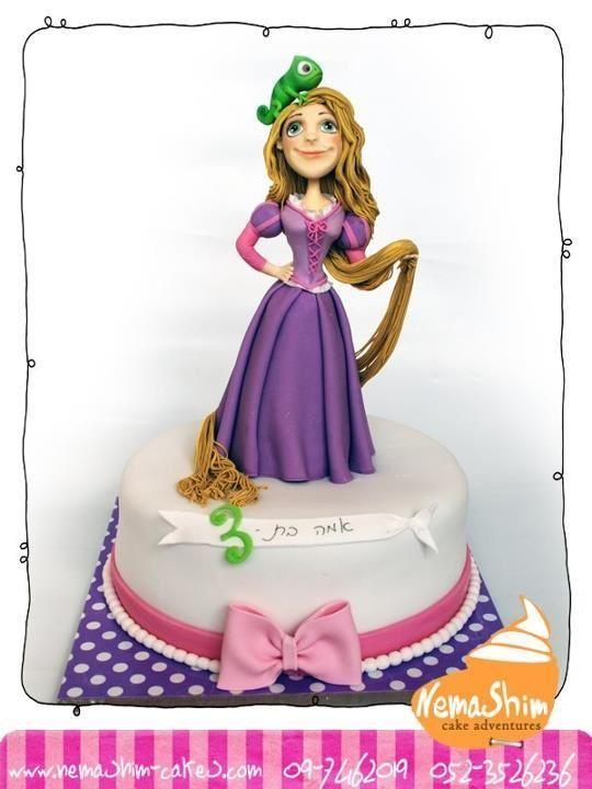 Рапунцель торт