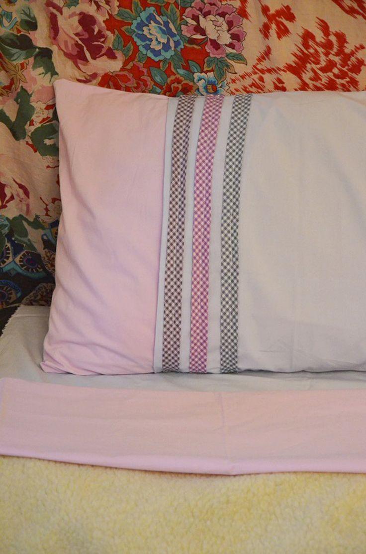 customisation-oreiller-literie-avec-biais-Frou-Frou par Saraha