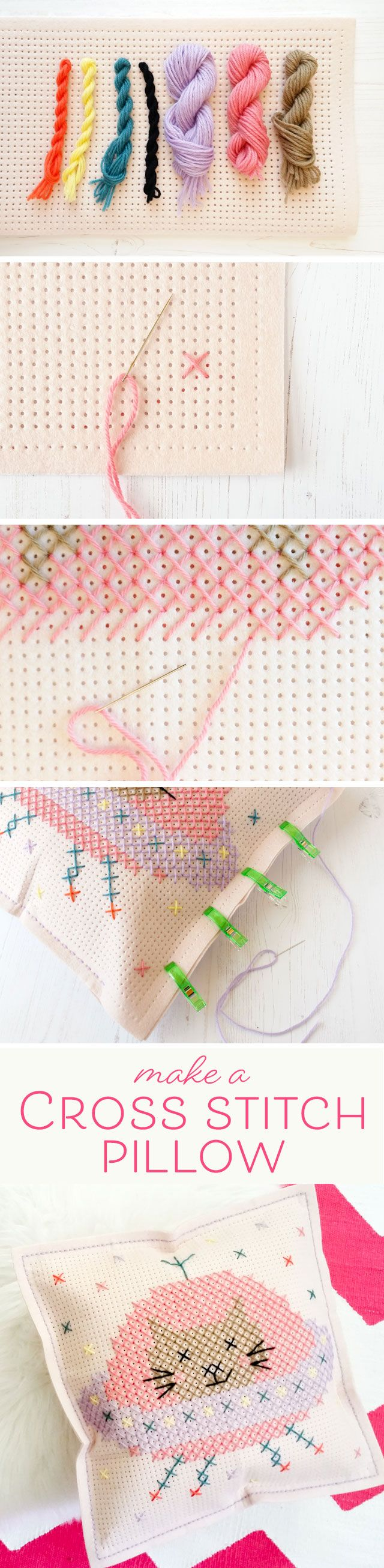 Modern Cross Stitch Pillow : 1408 best Modern cross stitch images on Pinterest Bag patterns, Bed pillows and Craft ideas
