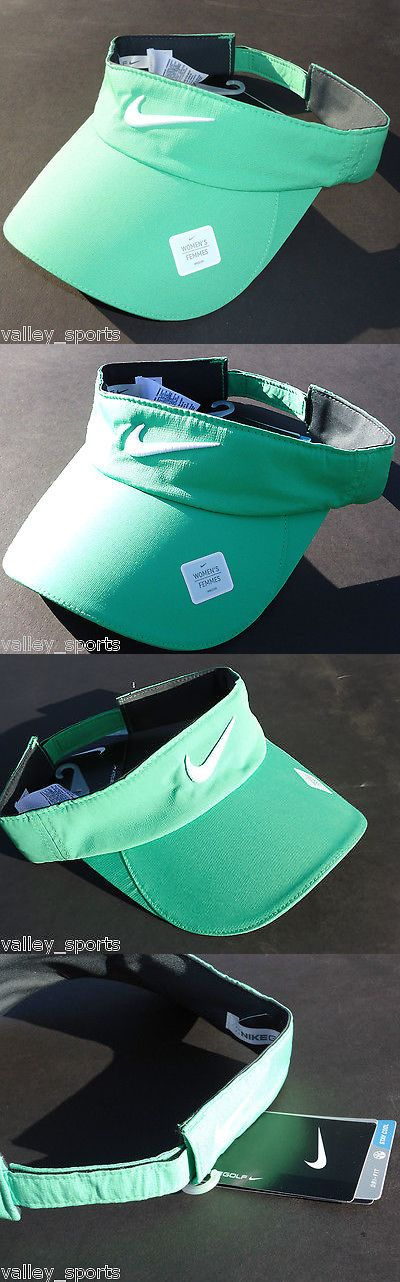 Hats and Headwear 159160: New! Green #316 Nike Womens Golf Tech Visor Dri-Fit Cap By Nikegolf BUY IT NOW ONLY: $42.64