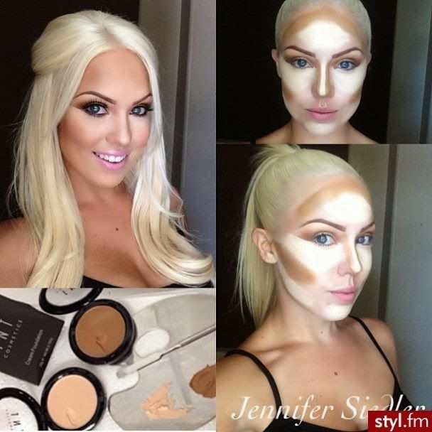 contouring with concealer