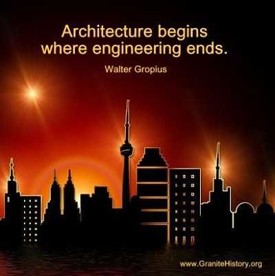 Inspiring Photos And #Architecture #Quotes http://www.granitehistory.org/architecture-quotes/
