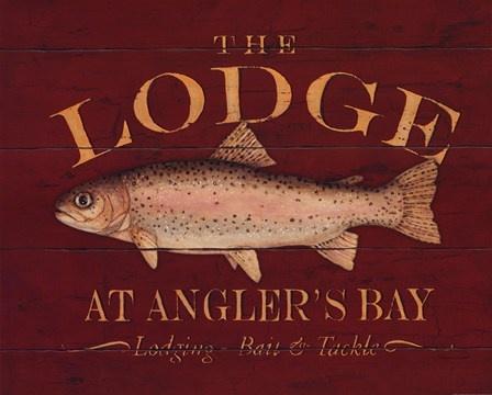 The Lodge - fishing decor