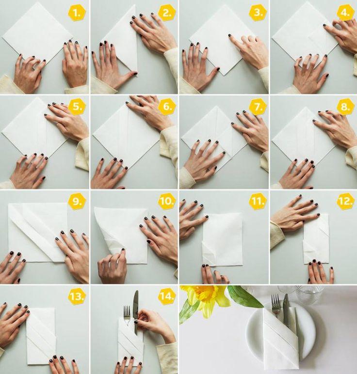 ber ideen zu bestecktasche auf pinterest bestecktasche falten servietten falten und. Black Bedroom Furniture Sets. Home Design Ideas