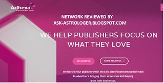 Adhexa CPM Rates and Review    Adhexa is a latest CPM ad network that serves Cost per mille ad...