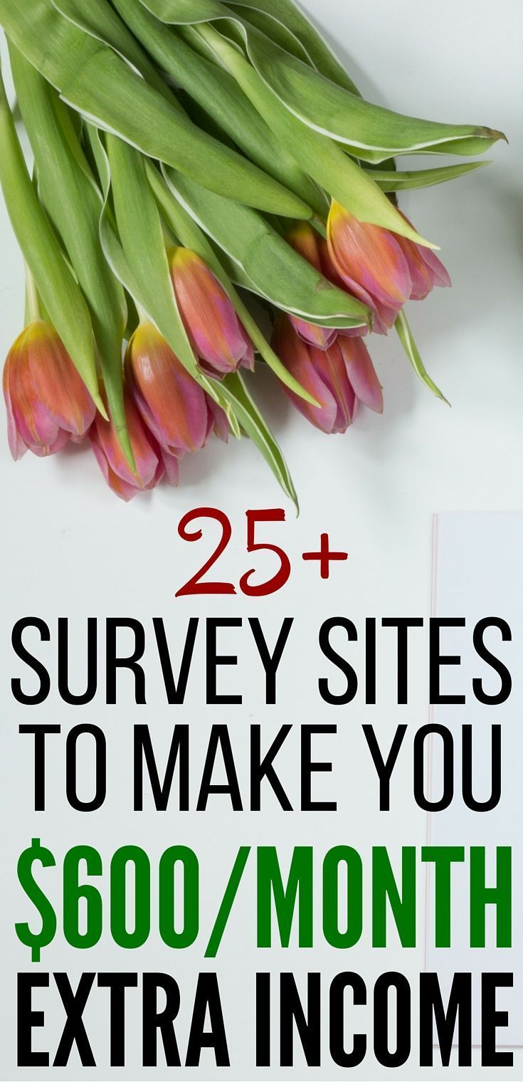 25+ Survey Sites That Will Add $600/Month or More