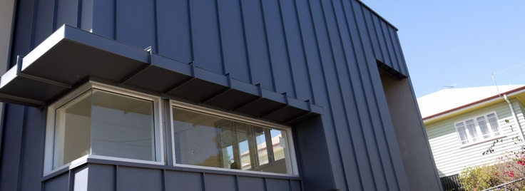 Exterior Duct Cladding : Best images about standing seam metal cladding on