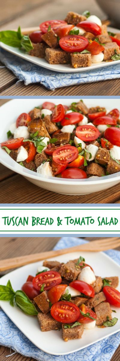 Give stale bread new life in a simple, flavorful Tuscan Bread and Tomato Salad. Garden-fresh tomatoes really shine in this easy-to-prepare recipe.